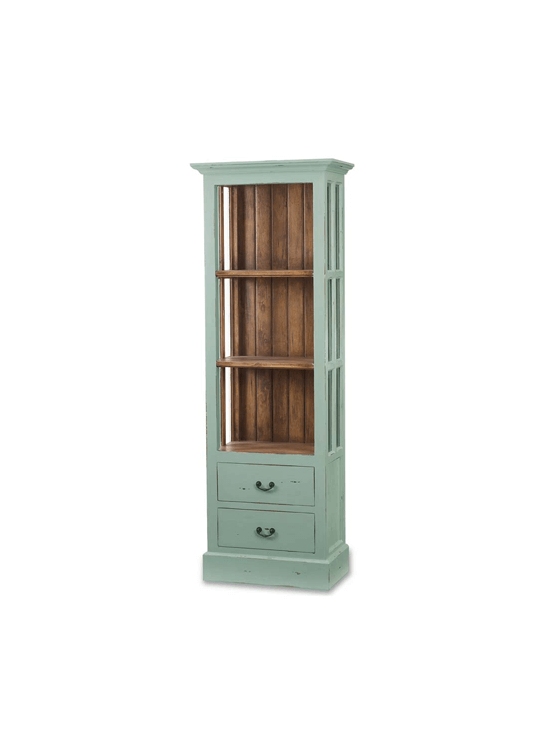 Cape Cod Bookcase w/ Out Doors