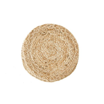 14'' Round Jute Woven Placemat, Woven