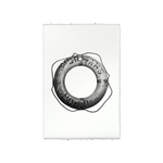 Life Ring #1, Standard 22x30, English Watercolor, Print Only