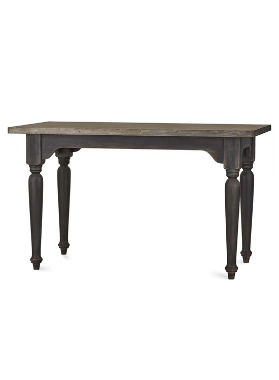 Tudor Kitchen Island w/ Tin