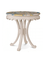 Crown Curved-leg Side Table