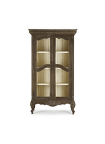Chateau Linen Cupboard w/ Chicken wire Door
