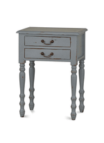 Tucker 2 Drawer Side Table