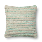 Miso Silver Sage Cotton Down Pillow, 22x22