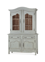 Baroque Armoire w/ 2 Glass Doors