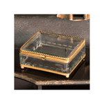Square Filagree Glass Box