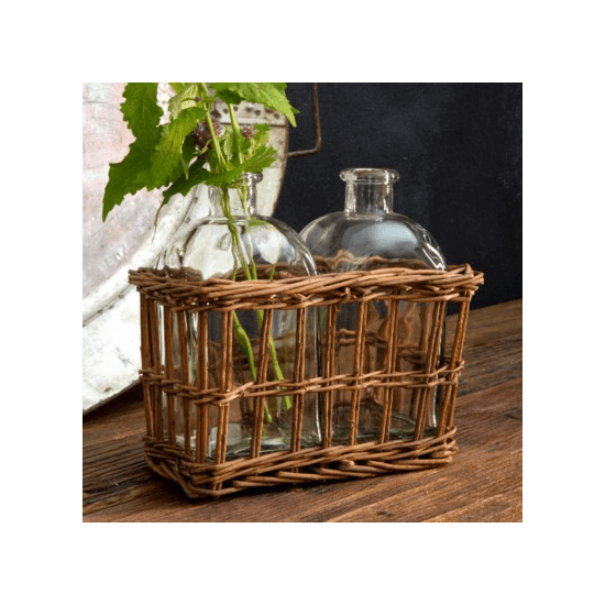 Double Willow Tonic Bottle Vase