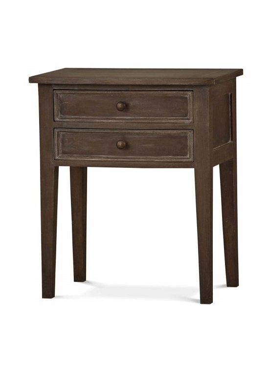 Charmant Colonial Bow Front Side Table | Steven Shell Living   Furniture Store  Charleston , Raleigh