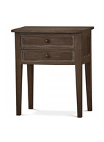 Colonial Bow-Front Side Table