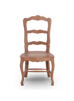 Provincial Dining Chair w/ Wooden Seat