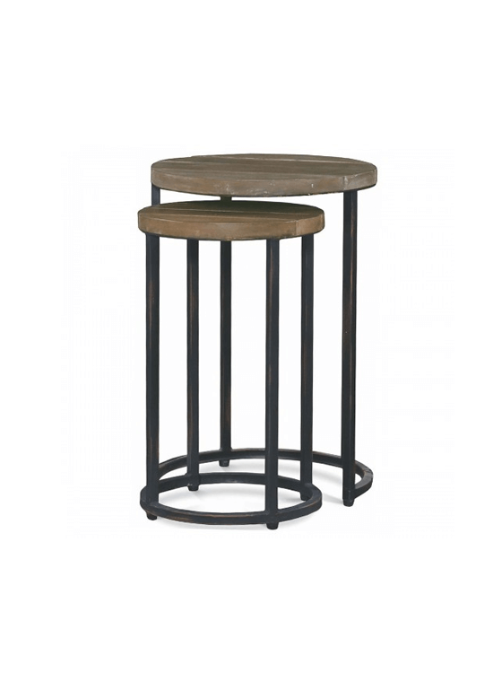 Espresso Nesting Table
