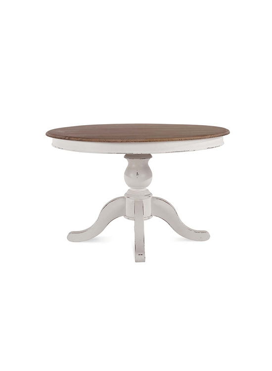 Farmhouse 4 Round Pedestal Table
