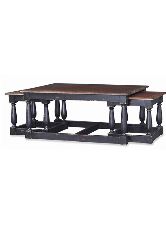 Jacobean Nesting Coffee Table
