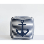Anchor Pouf