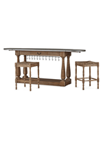Bailey Breakfast Island and 2 Counter Stool