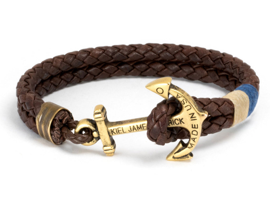 Algonquin Cabin - Kiel James Patrick Anchor Bracelet Made in the USA