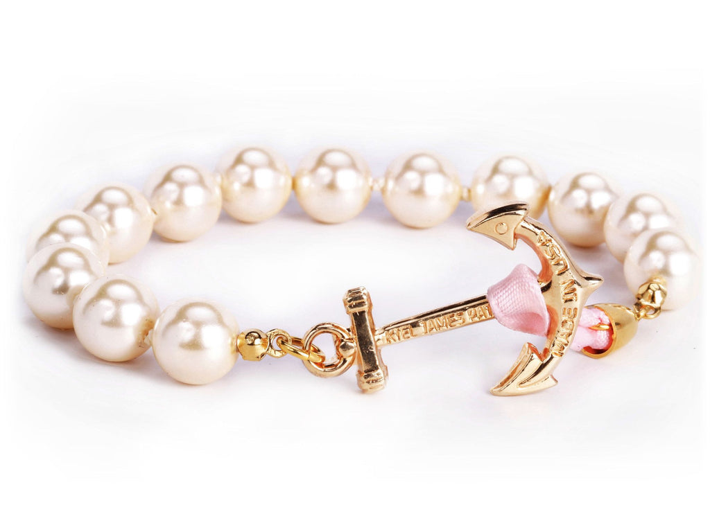 Atlantic Pearl - Kiel James Patrick Anchor Bracelet Made in the USA