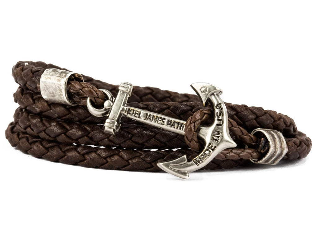 Barrel of Rum - Kiel James Patrick Anchor Bracelet Made in the USA