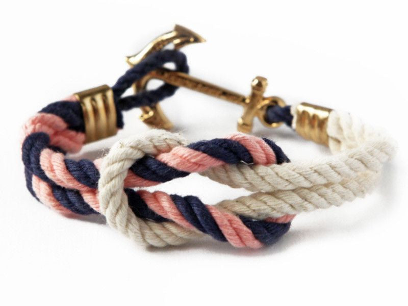 Barrington Spinnaker - Kiel James Patrick Anchor Bracelet Made in the USA