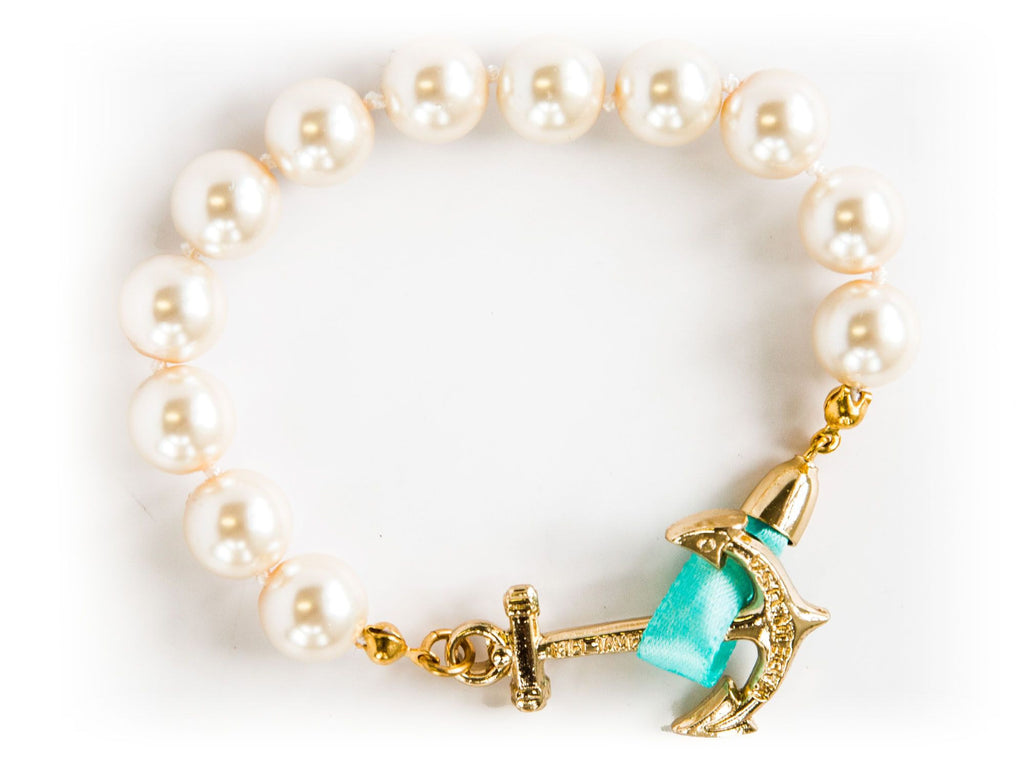 Emma Mason - Kiel James Patrick Anchor Bracelet Made in the USA