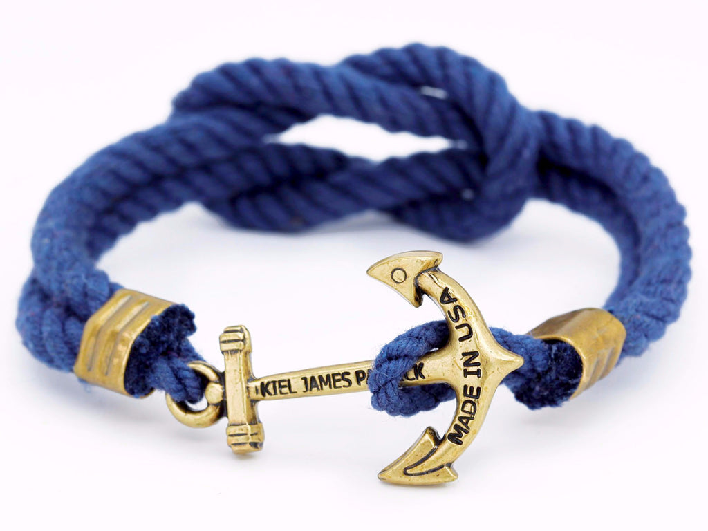 Cape Spencer Approaches - Kiel James Patrick Anchor Bracelet Made in the USA