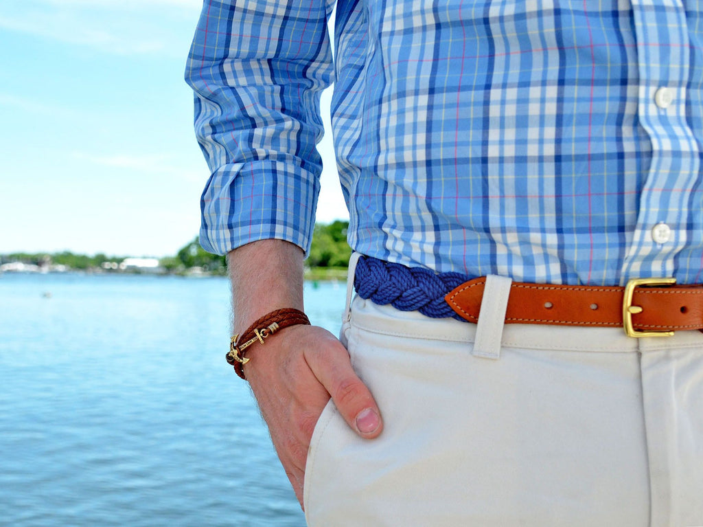 Doctor Jones - Kiel James Patrick Anchor Bracelet Made in the USA