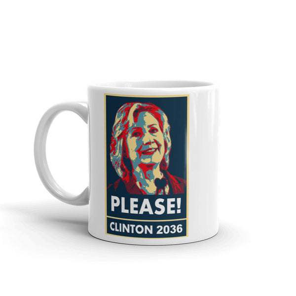 Clinton 36, Please! Mug