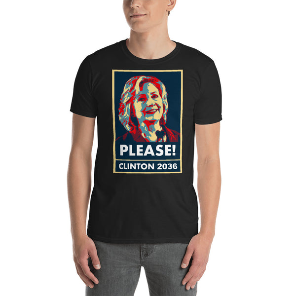 Clinton 36: Please! Tee
