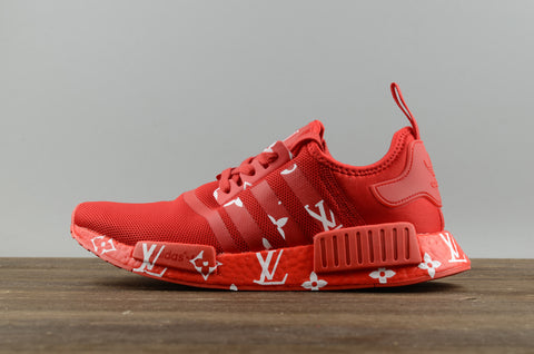 ad09fab2c3a Global Markett Adidas NMD Supreme x LV Cheap NMD R1 LV .