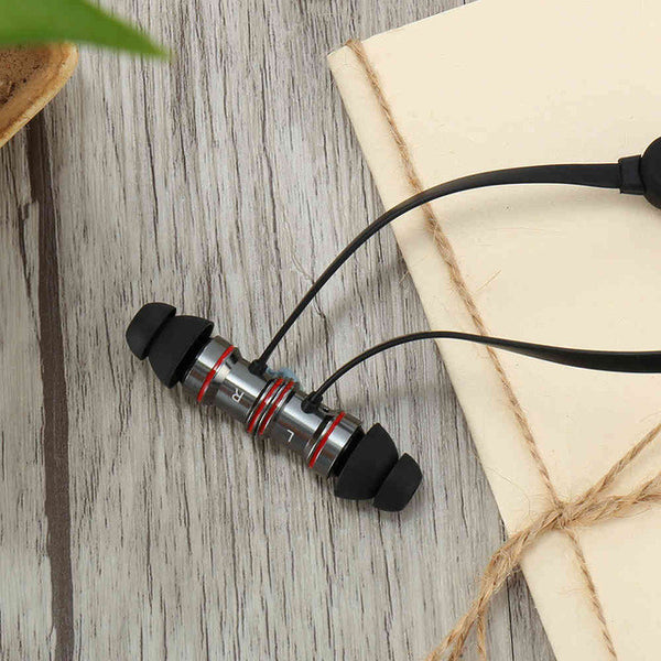 RAXFLY K3 Bluetooth Earphone Wirless Portable Sport Headset IC Voice  Control Stereo Sound Noise Wireless Earphones For Hawei P9