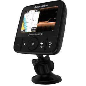 Dragonfly 5 PRO Gold Combo with T/M Transducer & Navionics NA Gold Lakes, Rivers & Coastal Chart