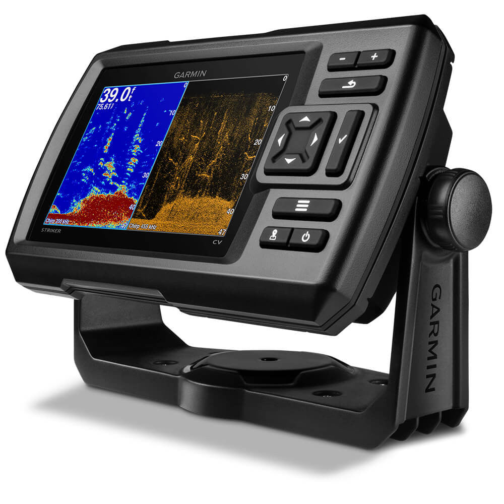 Garmin Striker 5cv Fishfinder with 77/200kHz/ClearVü