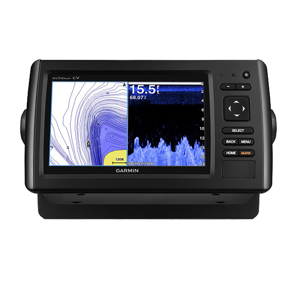 echoMAP™ CHIRP 73cv w/US LakeVü HD & High Wide CHIRP 150-240kHz, CHIRP ClearVü 455/800kHz - 4-Pin