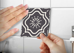 Tile stickers set of 24 Peel & Stick