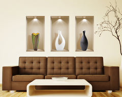 Merveilleux ... 3D Wall Art Niche, Sticker Set, Wall Decor, Wall Decals Living Room, ...