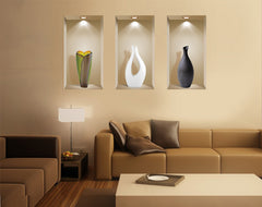 3D Wall Art Niche, Sticker Set, Wall Decor, Wall Decals Living Room, ... Part 78