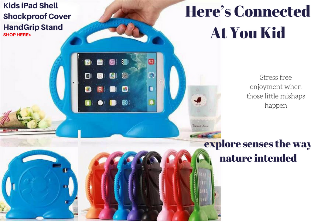 miTeigi Kids Child's iPad Shockproof Cover Stand