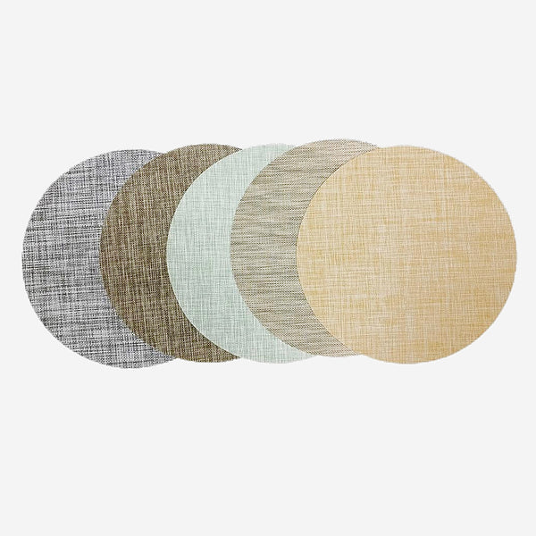 4 Piece Japanese Circular Placemat Sets Trend