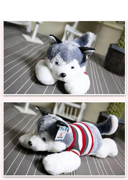 Husky Dog Plush Doll