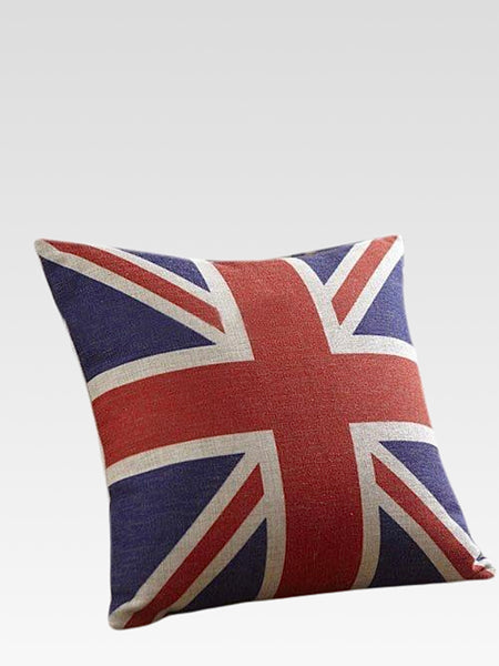 Union Jack Cushion Cover      British Union Jack flag throw pillow Case pillowcase home decor Trend