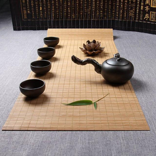 Japanese Bamboo Table Runner