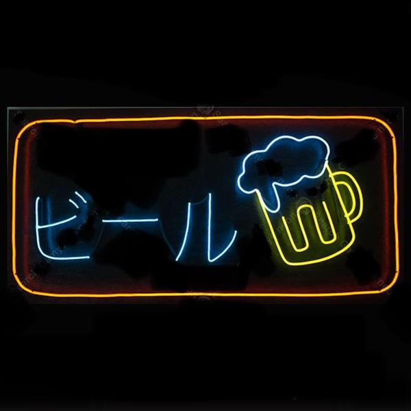 Japanese Drinks Beer Neon Sign Home Decor Furniture Accessories