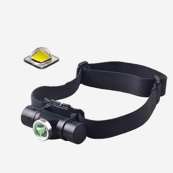 LED USB Head Light Cycle Bicycle Cave Outdoor Adventurer