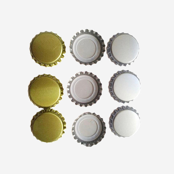 100 Piece Beer Cap Set Oxygen Absorbing Seal Crown New Beer Bottle Caps for DIY Home Brewing Beer Tool Bar Accessories Trend