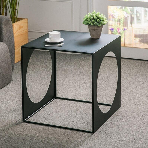 Wrought Iron Corner Table Home Decor Furniture
