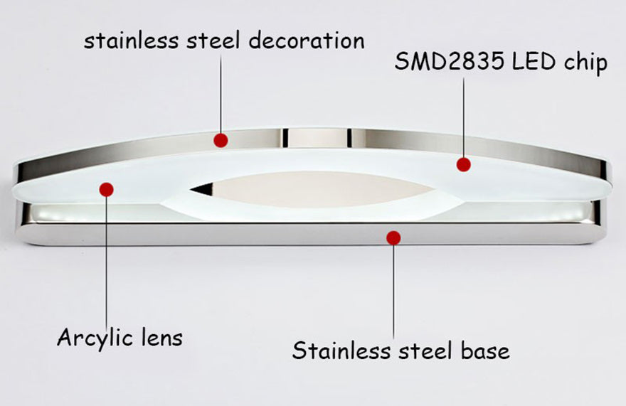 Stainless Steel Wall Lamp Sconce