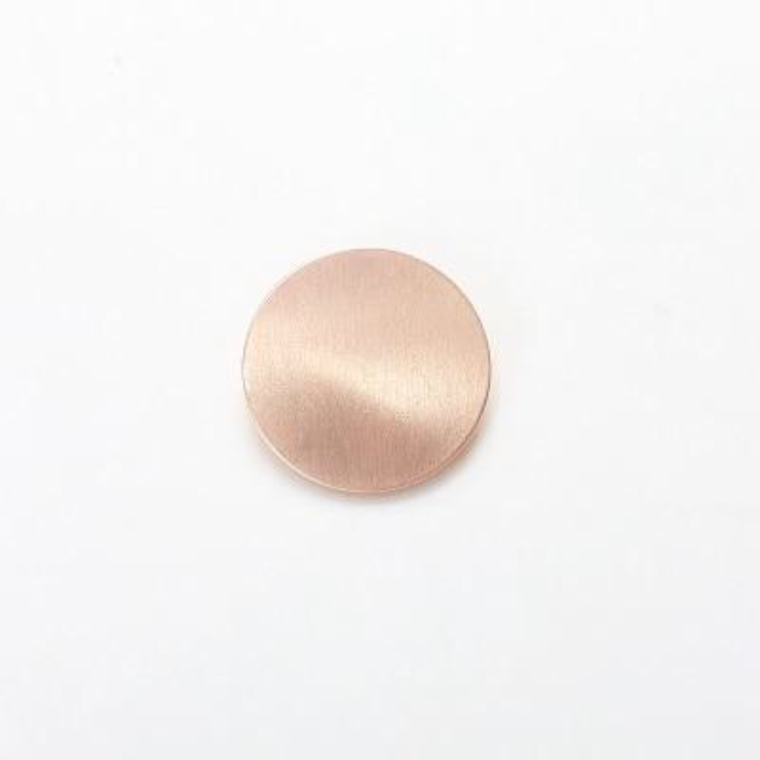Minimalist Rose Gold Circle Japanese Hair Accessories Metal Triangular-Cut Or Circle Hairpin Contracted Temperament Hair Clip Headwear Accessories