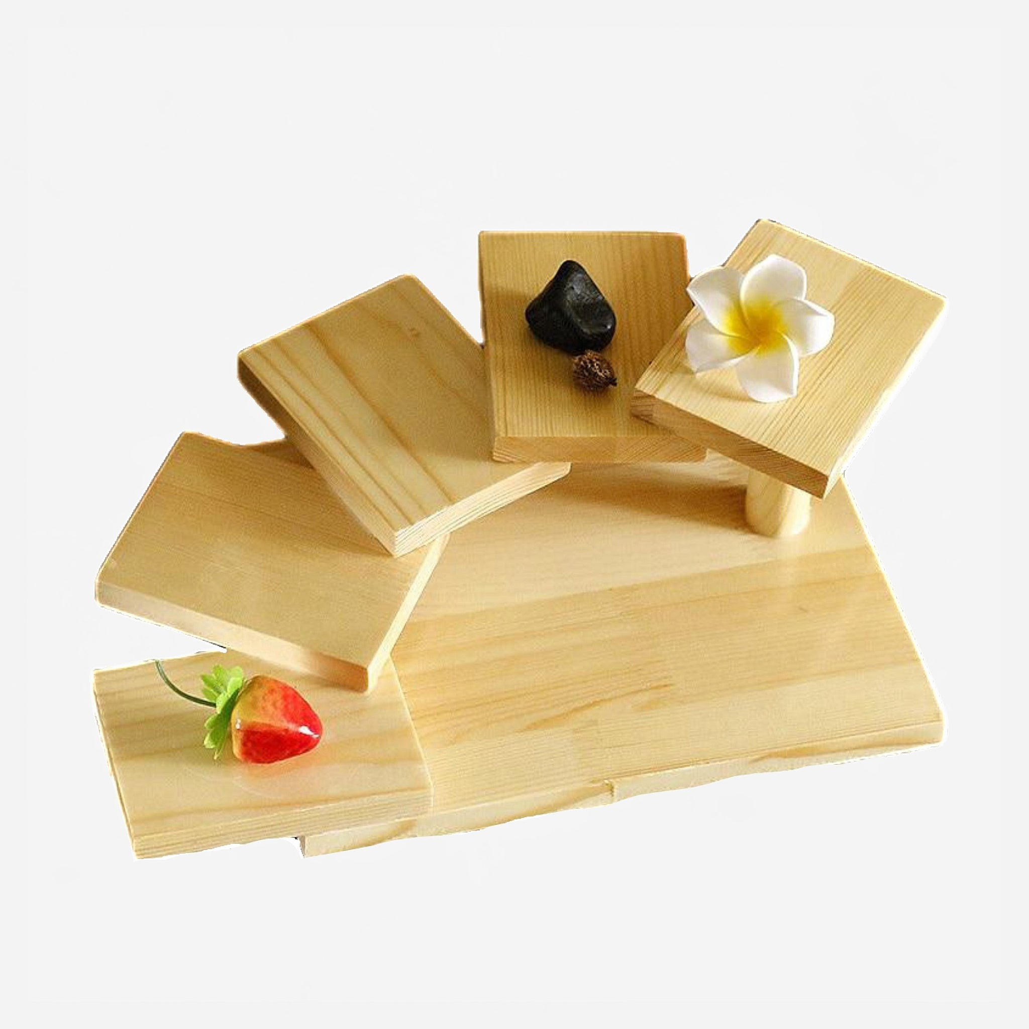 Japanese Sushi Shelf Serving Platter Trend