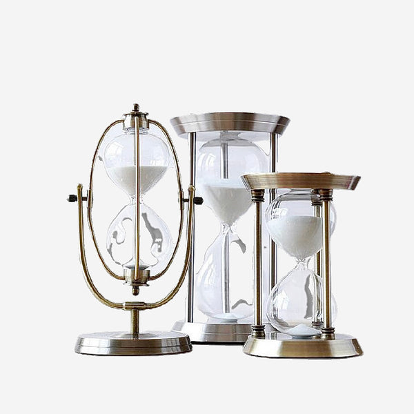 Hourglass Sand Timer Sand Clock 15 minute 30 minute 60 minute Timers Kitchen Home Decor Furnishing Craft Gift Trend