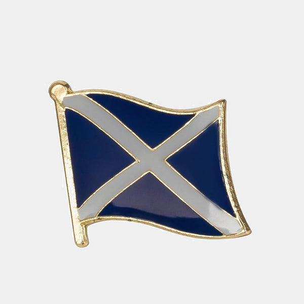 Scotland National Flag Lapel Pin Blue Metal Badges For Clothes Patches Icon Backpack Trend